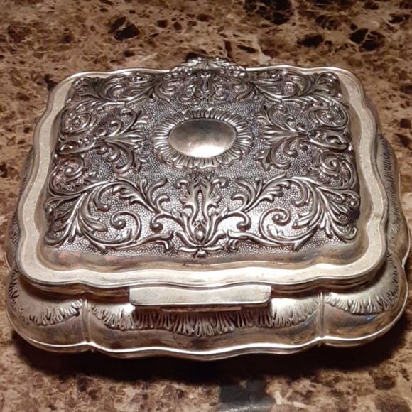 Godinger Other Godinger Silver Art Co Ltd Jewelry Box Poshmark